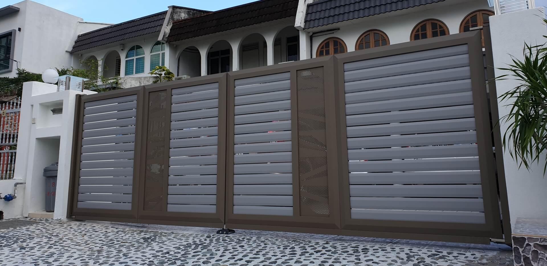 Aluminium Main Gate